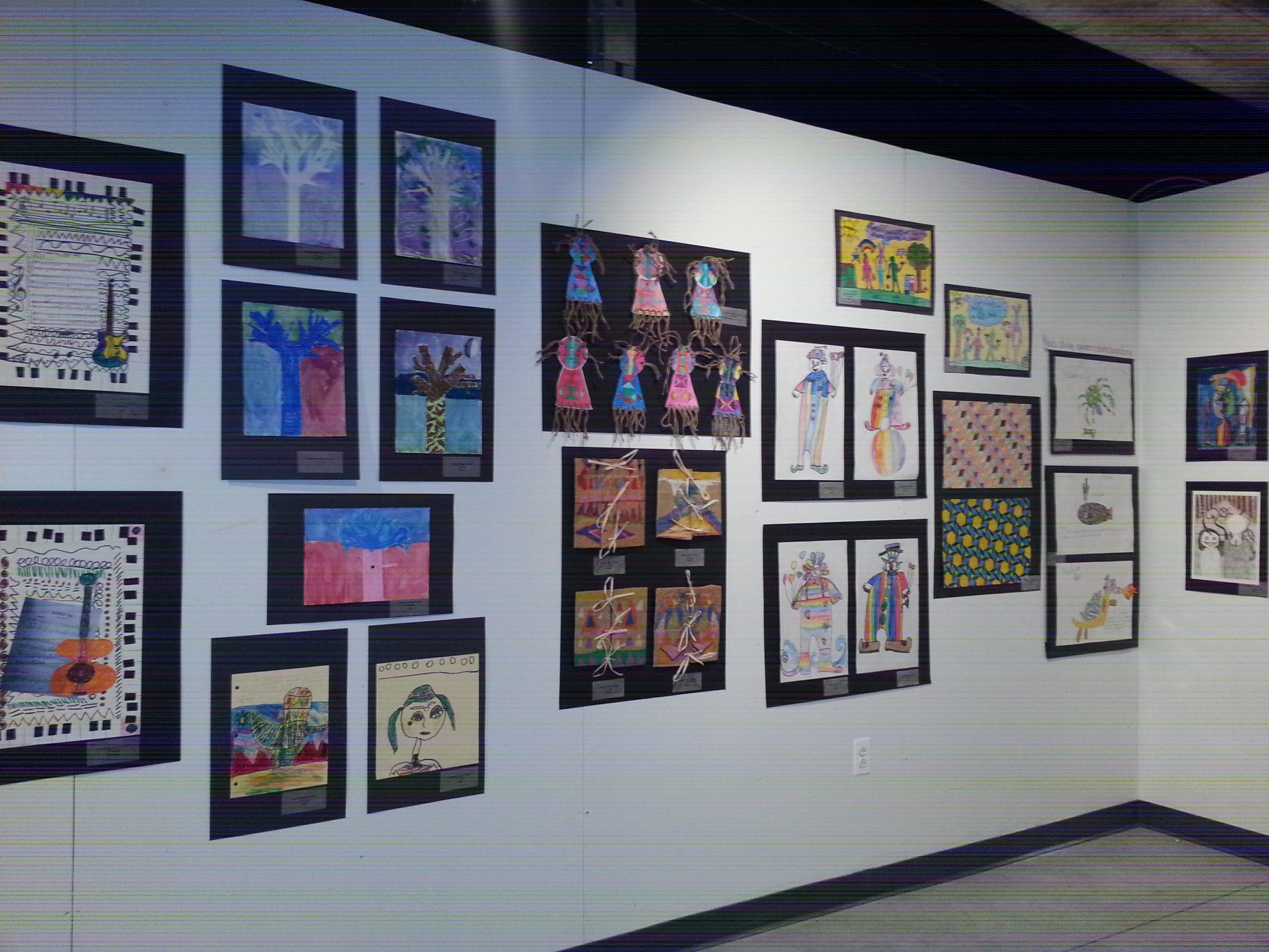 2014 Atlantic City Schools Art Show at the Arts Garage