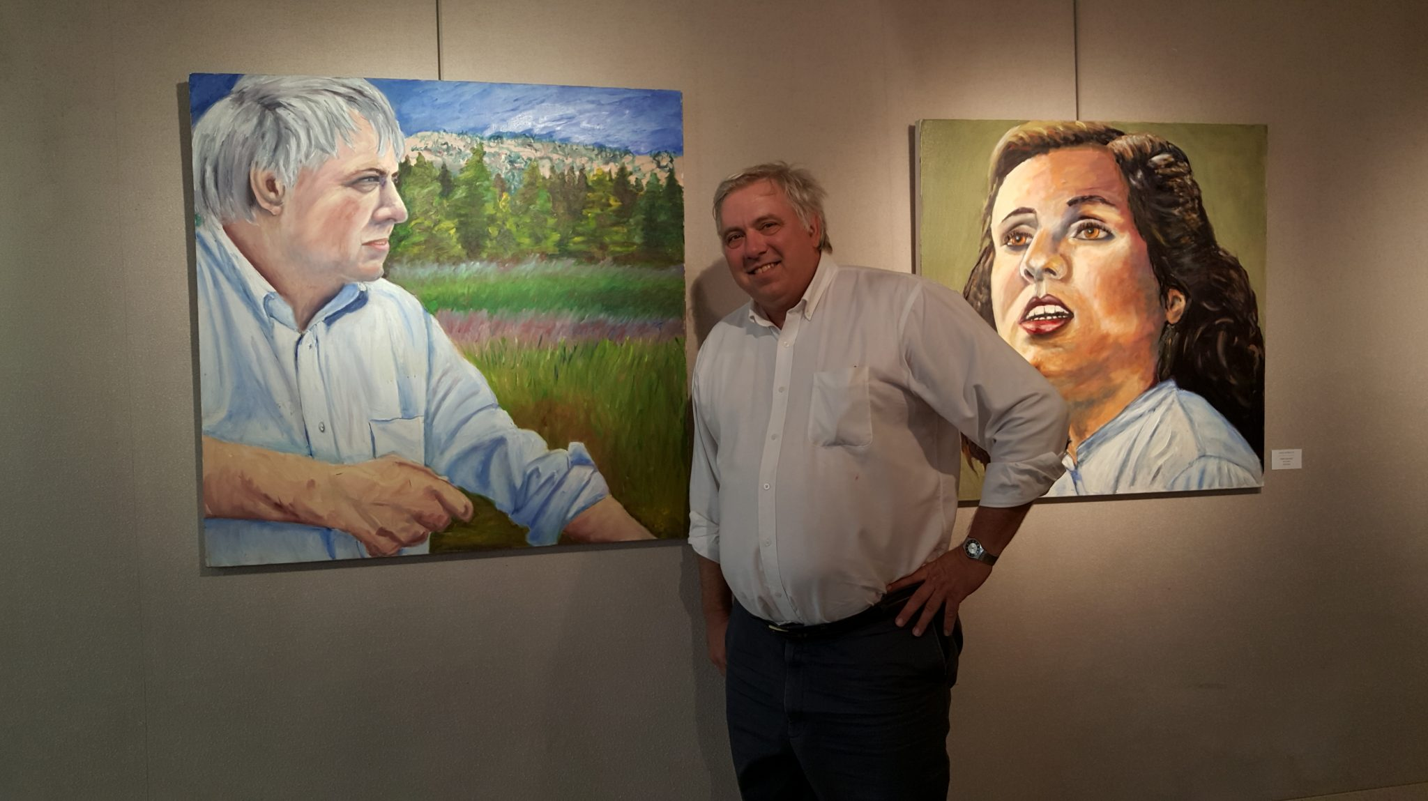 2015 Garden Pier Art Gallery Opening Reception - Artist, Robert Edelhauser