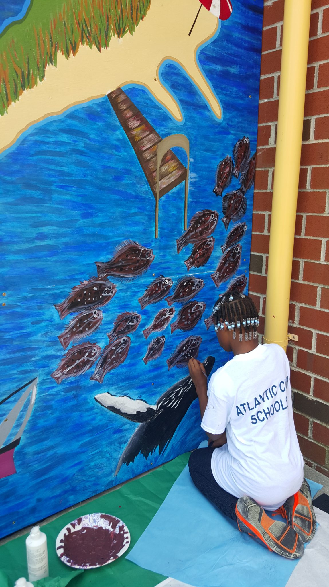 2014 Mural Project at Chelsea Heights School with Stockton College