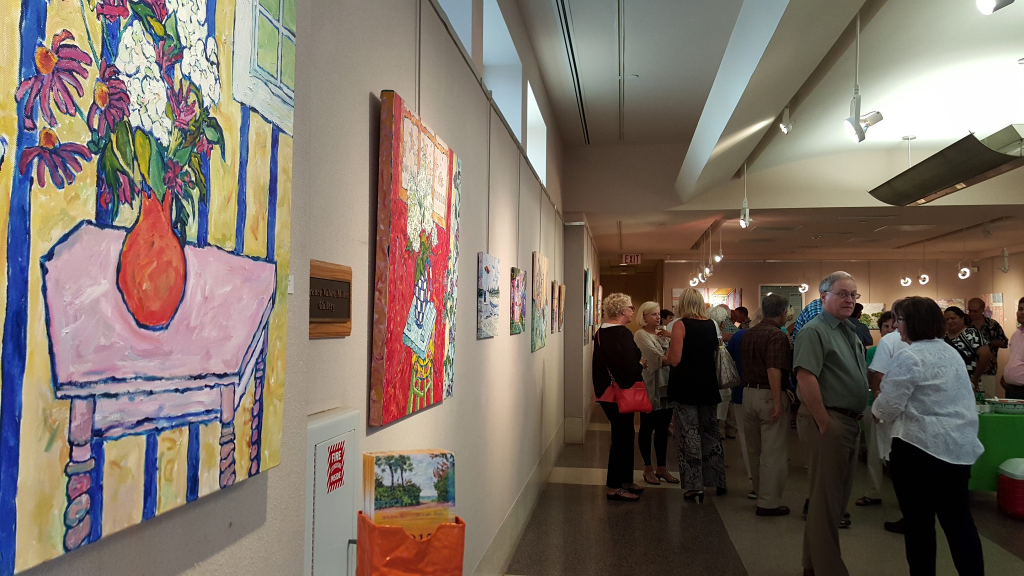 2014 Garden Pier Art Gallery Opening - Artist Popo Flannigan