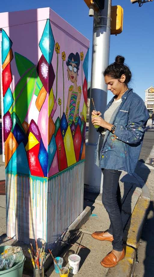 Art Box Project - Artist Manuela Guillen