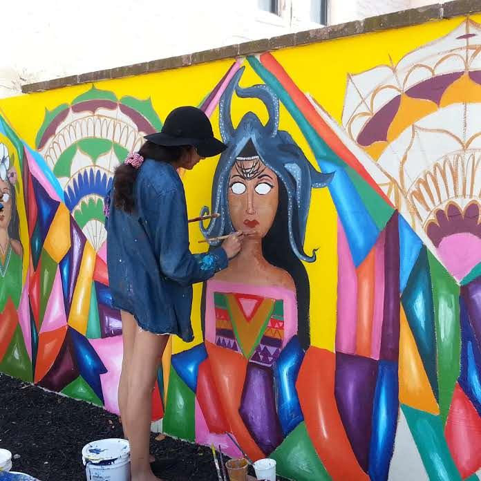 Georgia Avenue Mural - Artist Manuela Guillen
